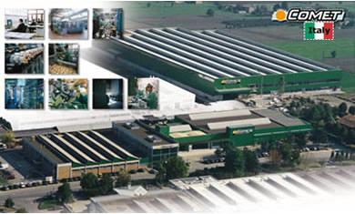 Comet Factory, Italy