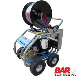 Water Jetter Drain Cleaner - Electric
