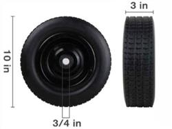 "10""  FOAM FILLED CART WHEEL"
