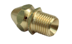 Sewer Cleaning Nozzle with Male Thread