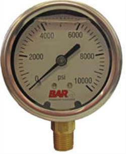 "2.5"" Gauge 10000 Psi, Bottom Mount Premium"