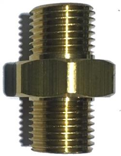 Nipple Brass 1/4 Inch Male