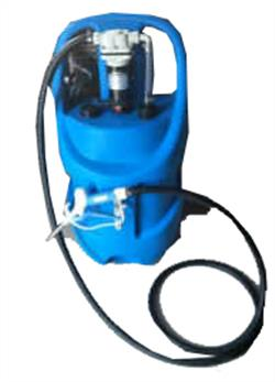 DCAdblue pump with mobile tank