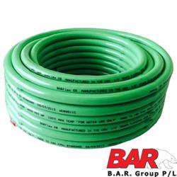 "3/4"" Poly Jetter Hose Assy - Orange 2500 PSI"