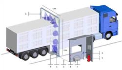 IDA - Modular System For Vehicles Disinfection