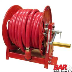 Fire Hose & Reel - Orange Hose