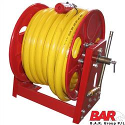 Fire Hose & Reel - Yellow Hose