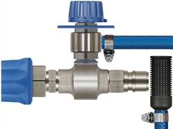 ST160 with Metering Valve & Stainless Plug & Nickel Plated Coupling