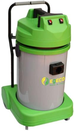 Vacuum, Tipping 76L Wet/Dry, Poly, 240V