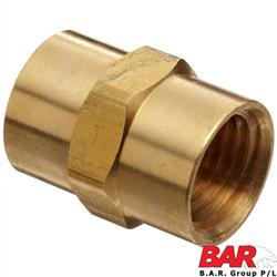 Brass Female Threaded Nipple
