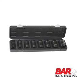 "Deep Impact Socket Set - 3/4"" Metric"