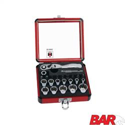 Flex Ratchet & Spline Socket Set