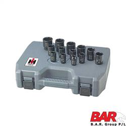 "Impact Socket Set - 1/2"" Metric"