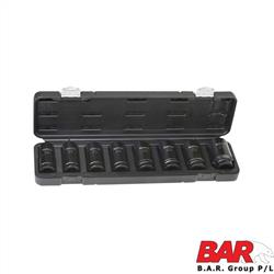 "Impact Socket Set - 3/4"" Metric"