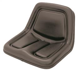 Deluxe High Back Seat - Black