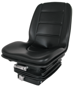 Deluxe Narrow Tractor Seat - Black