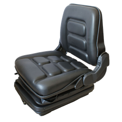 Suspension Forklift Seat - Black